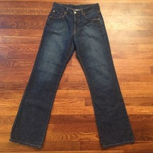 Lucky Brand Button Fly Flare Jeans Size 4/27